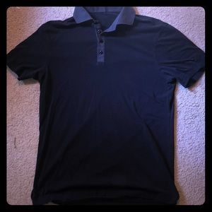 Lululemon Men's Golf Polo, Black, Size Large